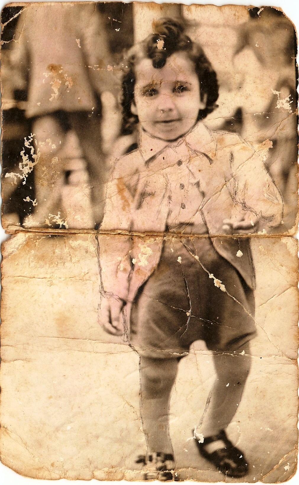 דני לוסקי בן שנתיים